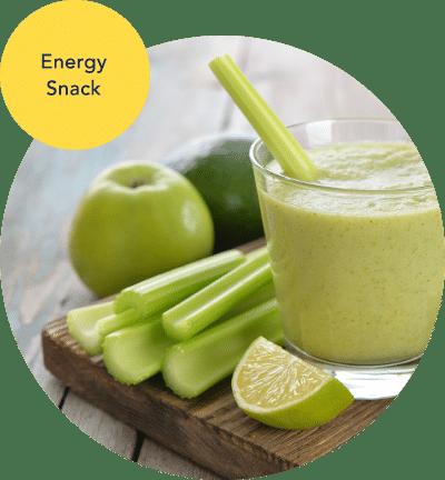 Ernährungsplan Beispiel-Rezept Snack Smoothie